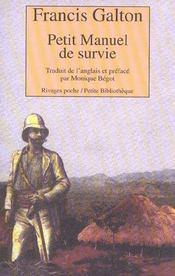 Petit Manuel De Survie - Intérieur - Format classique