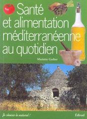 Santé et alimentation méditerranéenne au quotidien - Intérieur - Format classique