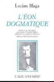 L'Eon Dogmatique - Couverture - Format classique