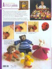 Mes petits animaux préférés en laine féeriques modelée ; 47 modèles originaux - 4ème de couverture - Format classique