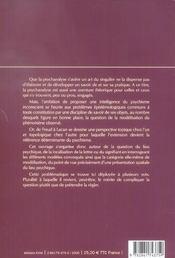 Lettre Et Le Lieu (La) - 4ème de couverture - Format classique