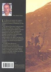 Volcans d'Auvergne ; les montagnes et les hommes - 4ème de couverture - Format classique