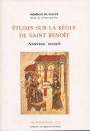 Études sur la règle de saint benoît - Intérieur - Format classique