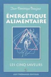 Energetique Alimentaire - Couverture - Format classique