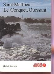 St Mathieu, Conquet Ouessant - Couverture - Format classique