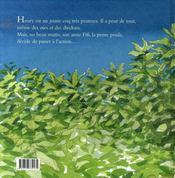 Le Coq Et Le Renard - 4ème de couverture - Format classique