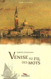 Venise Au Fil Des Mots - Intérieur - Format classique