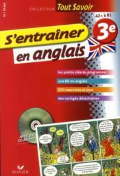 S'entrainer en anglais ; 3eme – Hourquin, D ; Rattier, J