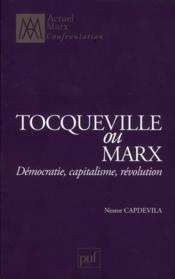 Tocqueville et Marx - Couverture - Format classique