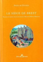 Le sieège de Brest - Couverture - Format classique