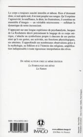 La symbologie des rêves t.1 ; le corps humain (4e édition) - 4ème de couverture - Format classique