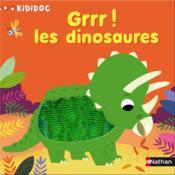 Grrr! les dinosaures - Couverture - Format classique