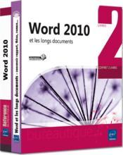 Word 2010 ; et les longs documents - Couverture - Format classique