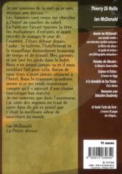 Revue Bifrost N.68 ; Ian Mcdonald - 4ème de couverture - Format classique
