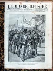 Monde Illustre (Le) N°1535 du 28/08/1886 - Couverture - Format classique
