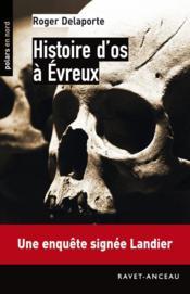 Histoire d'os à Evreux - Couverture - Format classique