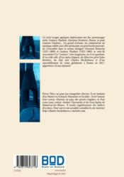 Le mystère du pont Gustave-Flaubert - 4ème de couverture - Format classique
