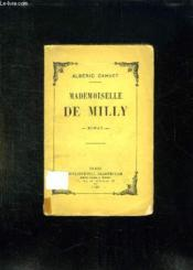 Mademoiselle De Milly. - Couverture - Format classique