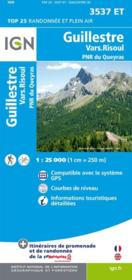 Guillestre, Vars-Risoul ; parc national du Queyras ; 3537 ET  - Collectif Ign