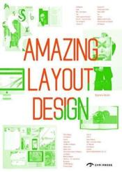 Vente livre :  Amazing layout design  - Collectif
