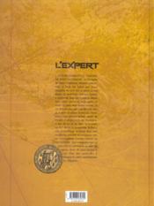 L'expert t.1 ; le triomphe de saint waldemar - 4ème de couverture - Format classique