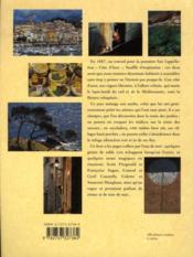 La côte d'Azur - 4ème de couverture - Format classique