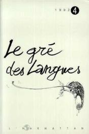 Gre Des Langues 4 - Couverture - Format classique