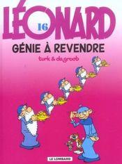 Léonard t.16 ; génie à revendre - Intérieur - Format classique