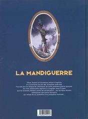 La mandiguerre t.1 ; de vrais boy-scouts - 4ème de couverture - Format classique