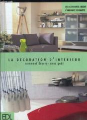 Decoration D'Interieur (La) - Couverture - Format classique
