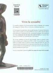 Vivre La Sexualite, Encyclopedie Illustree - 4ème de couverture - Format classique