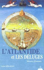 L'Atlantide Et Les Deluges - Intérieur - Format classique