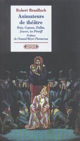 Animateurs de theatre - Intérieur - Format classique