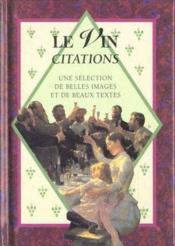 Le vin citations - Couverture - Format classique