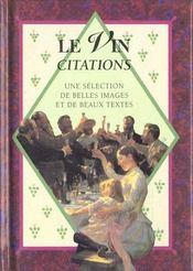 Le vin citations - Intérieur - Format classique