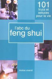 L'abc du feng shui - Intérieur - Format classique