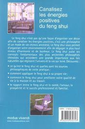 L'abc du feng shui - 4ème de couverture - Format classique
