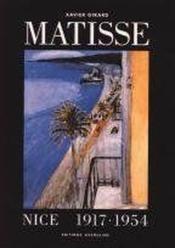 Matisse A Nice, 1917-1954 - Couverture - Format classique