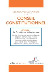 Vente livre :  CAHIERS CONSEIL CONSTITUTIONNEL N.35  - Collectif