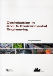 Optimization in civil and environmental engineering - Couverture - Format classique