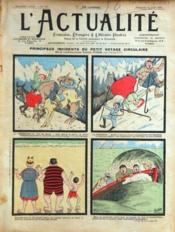 Actualite (L') N°137 du 31/08/1902 - Couverture - Format classique