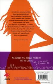 Journal d'une princesse t.2 ; premiers pas - 4ème de couverture - Format classique