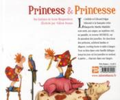 Princess et Princesse - 4ème de couverture - Format classique