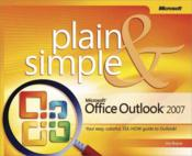 Vente livre :  Microsoft Office Outlook 2007 Plain and Simple  - Jim Boyce