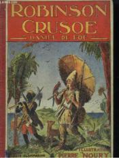 Aventures De Robinson Crusoe. - Couverture - Format classique