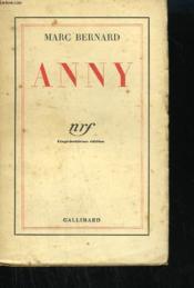 Anny. - Couverture - Format classique