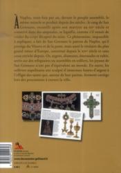 Naples et le trésor de San Gennaro - 4ème de couverture - Format classique