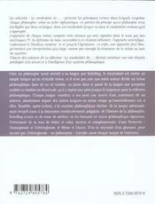 Schelling - 4ème de couverture - Format classique