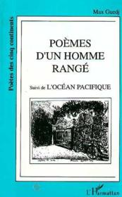 Poèmes d'un homme rangé ; l'océan pacifique - Couverture - Format classique