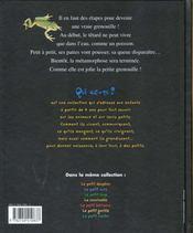 La Grenouille - 4ème de couverture - Format classique